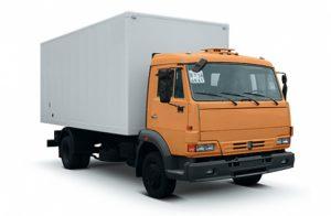 КАМАЗ мебельный фургон